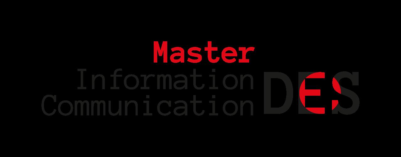 Master Information-Communcation –  Données et société